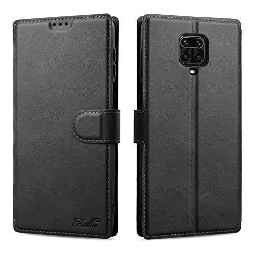Keallce für Xiaomi Redmi Note 9 Pro/Note 9S Hülle, Handy Lederhülle PU Leder Hülle Brieftasche Handytasche Cover Kompatibel für Xiaomi Redmi Note9Pro/Note9S Ledertasche-6.67