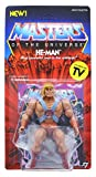 VINTAGE DESIGN: The original Masters of the Universe action figures re-imagined to match the character designs from the animated cartoon! COLLECTIBLE SIZE: Figure measures 5.5 inches tall - the perfect size for your office desk, home bookshelf and so...