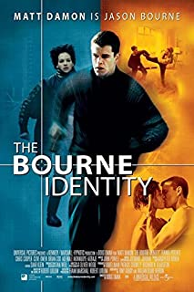 The Bourne Identity (2002) Vintage Movie Poster 24x36inch 02