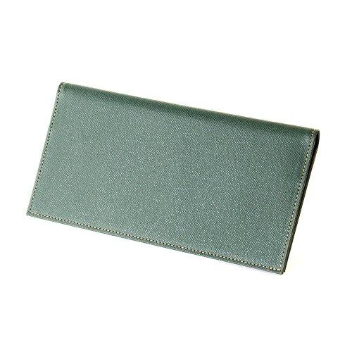 長財布 FRUH フリュー 薄い 軽い 牛革 財布 メンズ:wallet-ga-3581986 (ダークグリーン)