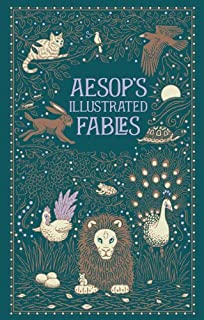 Aesops Illustrated Fables (Leatherbound Classic Collection) by Aesop (2013) Leather Bound