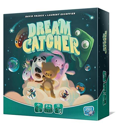 Juego de Mesa Dream Catcher - ¡Las pesadillas no Son Nada Divertidas! ¡Pero Tienes tu Peluche para Transformar Tus Malos sueños en Bonitos Cuentos!