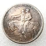 GreatSSCoin 1925 Historical Half-Dollar Nickel Old Coins - American Commemorative Stone Mountain US Old Coin- Handmade Coin Crafts -History of US Coin Coin Gift