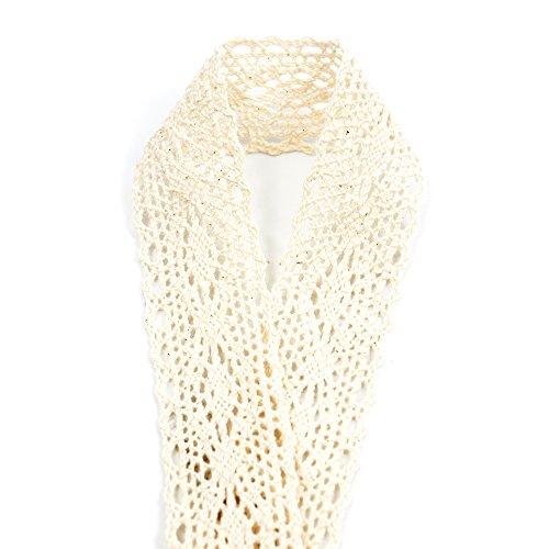 2M*5CM Gespout 2 X Rouleau de Toile de Jute Dentelle Blanche D/écoration de Mariage Couture R/églage de la Table