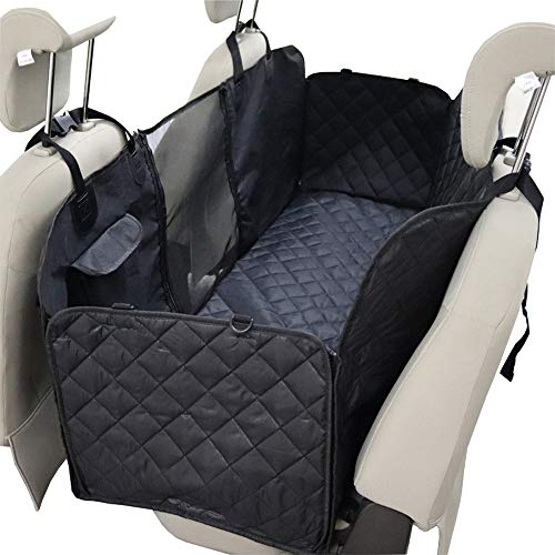 Hundedecke für Auto Rückbank Autoschondecke für Hunde Wasserfester Rücksitz Sitzbezug Autodecke für Haustiere Schonbezüge Decke universell für jedes Auto–Robustes Material für Kofferraum