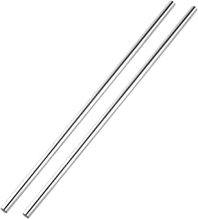 S SIENOC 2X Linear Motion Rods/Shafts/Guides 8mm Round Shaft Rod Bars,Case Hardened Chrome 300MM