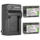 Kastar 2 Pack Battery and Charger for Sony NP-FP50 Handycam DCR-HC21 DCR-HC23 DCR-HC30 DCR-HC85 DCR-HC94 DCR-HC96 DCR-SR100 DCR-SR30 DCR-SR40 DCR-SR50 DCR-SR60 DCR-SR70 DCR-SR80 HDR-HC3 Camcorders