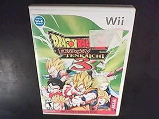 DragonBall Z Budokai Tenkaichi 3 w/ Bonus Disk Greatest Fights