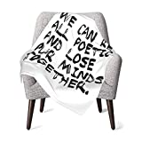 XCNGG Mantas para bebés edredones para bebésThe Four Masters (White Lettering) Baby Blanket Super Soft Printed Blanket Receiving Blanket for Boys Girls, Stroller, Crib, Newborns, Receiving