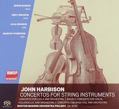 John Harbison: Concertos for String Instruments