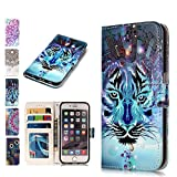 ANCASELeather Phone Case for Huawei P8 Lite 2017 Flip