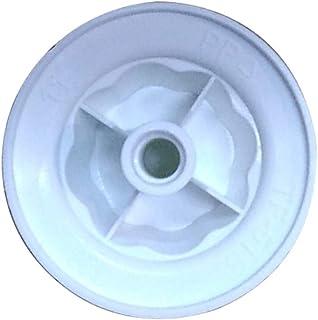 ANSIO - Tuerca de bloqueo de repuesto para ventilador de pie blanco de 16 pulgadas con mando a distancia, 8 velocidades