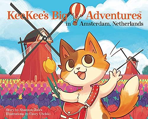 Keekees Big Adventures in Amsterdam, Netherlands