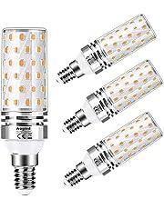 E14 Led Lamp 12 W Aogled,Gelijk Aan 100 W Halogeenlamp, Warm Wit 3000k,1200lm Maïslamp,Edison-schroefkandelaar,Niet Dimbaar,Geen Flikkerend AC220-240V,4 Stuks