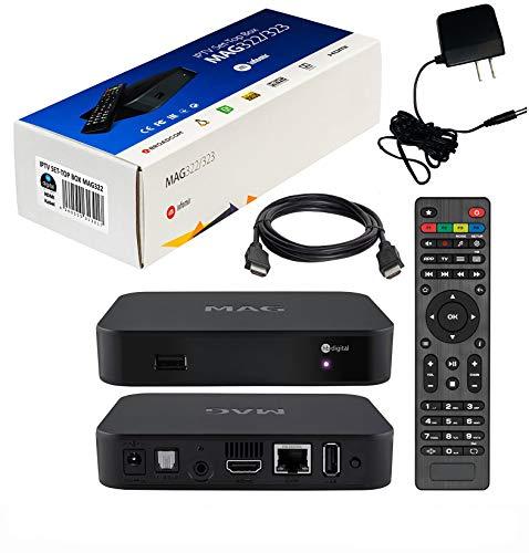 Originale MAG 322w1 by Inofmir + adattatore di alimentazione US + cavo HDMI + telecomando