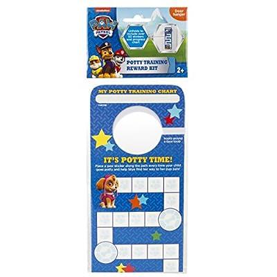 Nickelodeon Paw Patrol Potty Training Reward Kit, Door Hang Version by Ginsey Home Solutions