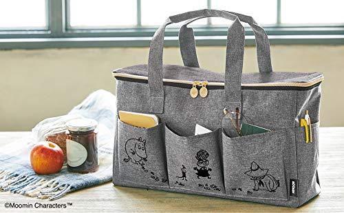 かわいらしいムーミンのイラストが描かれた、ちょっと大人っぽいバッグです。色々なシーンで使いやすいバッグで、毎日使いはもちろん、ピクニックに持って行っても◎です。
