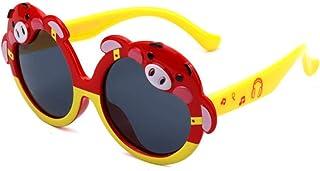 TOORY mural - Gafas de sol con protección solar para exteriores Gafas de sol para niños Gafas de sol polarizadas Piggy para niños Gafas de sol de silicona Gafas de sol con sombrilla linda-1