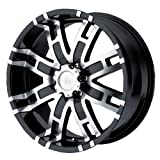 Helo HE835 Gloss Black Machined Wheel - (20x9'/6x5.5')