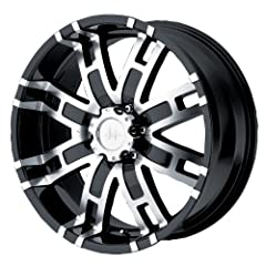 "Available in 17"" 18"" 20"" and 22"" diameters with various widths and off-sets Gloss black painted finish with machined face and center cap Lifetime structural and a one-year finish warranty against peeling or lifting of finish Lug nuts are not included..."