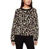 Juicy Couture Women's Metallic Leopard Print Sweater Beige Size S