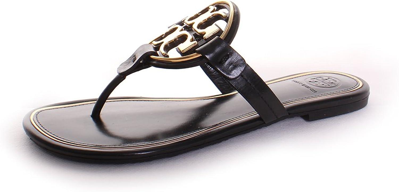 Tory Burch Miller Miller Miller Metal Logo Thong Sandal