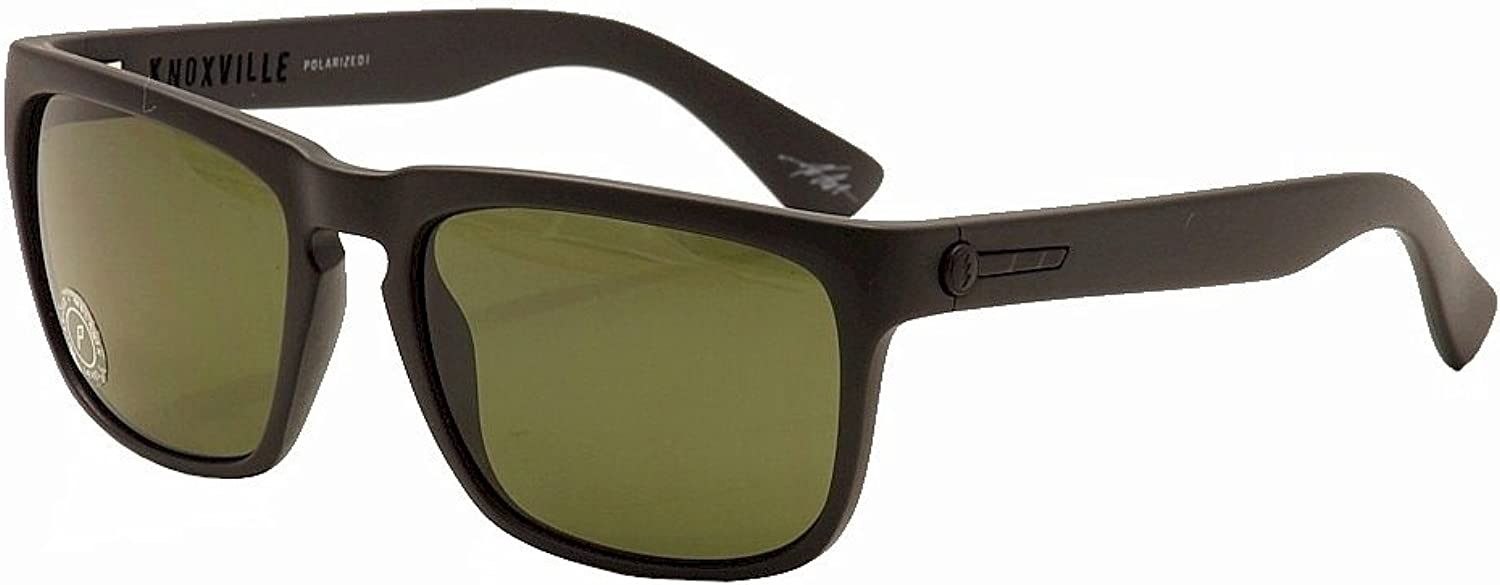 ELECTRIC Knoxville Polarized Sunglasses, Matte Black Grey Polarized