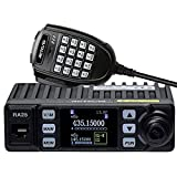 Retevis RA25 20W Mobile Radio,Mini Size Transceiver Dual Band, 500 Channels DTMF Compact Two Way Radio,for Car Vehicle with Microphone(1 Pack)