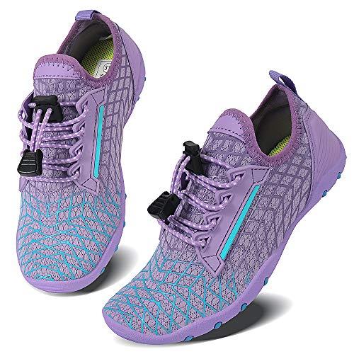 Vivay Zapatos acuáticos de secado rápido para niños y niñas, para natación, buceo, surf, deportes acuáticos, color, talla 30 EU