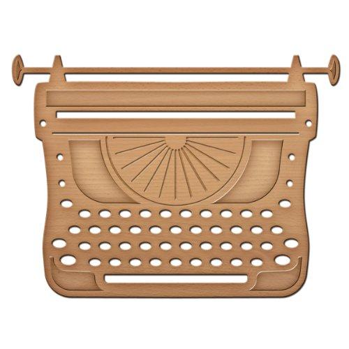 Spellbinder-Schablonen Papier Arts Schreibmaschine in Spire Shapeabilities sterben, Gold
