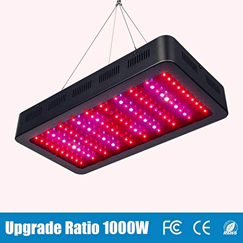 TOPLANET Led Cultivo 1000w Led para Plantas Lampara UV IR LED Full Spectrum para Interior...