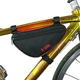 yiyitop Fahrradrahmen-Dreieck-Taschen Fahrrad Dreiecktasche Fahrrad Rahmen Tasche Outdoor Road Fahrrad Vordere Rohr Rahmenbeutel Mountainbike Beutel Fahrrad Aufbewahrungstasche Fahrrad Zubehör