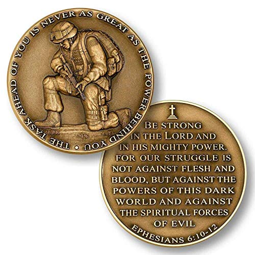 The Task Ahead Challenge Coin Collector