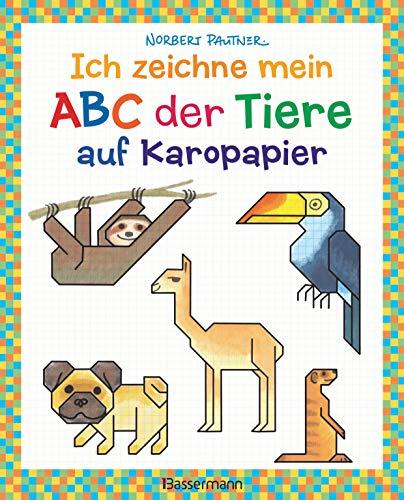 Ich zeichne mein ABC der Tiere auf Karopapier. Einfach zeichnen und Buchstaben lernen. Eine ungewöhnliche Zeichenschule mit Erfolgserlebnis-Garantie! ... pro Buchstabe. Groß- und Kleinschreibung.