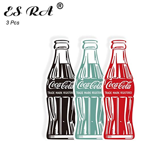Cola Colection Cola Fles Stickers Sets Grappige Sticker Laptop Pitcher Koelkast Bagage Decoreren 3 stks
