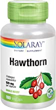 Solaray Hawthorn Berry 525mg | Healthy Cardiovascular Function & Normal, Healthy Circulation | Whole Berry | Non-GMO & Veg...