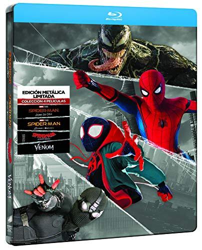 Spider-man - Edición especial metal (Colección 4 películas) (BD) [Blu-ray]