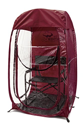 Under The Weather Adults and Children MyPod, Maroon, One Size