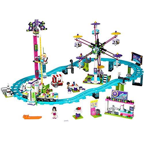 LEGO レゴブロックフレンズ 遊園地のジェットコースターキット(1124ピース)LEGO Friends 41130 Amusement Park Roller Coaster Building Kit 【並行輸入品】