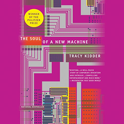 The Soul of a New Machine audiobook cover art