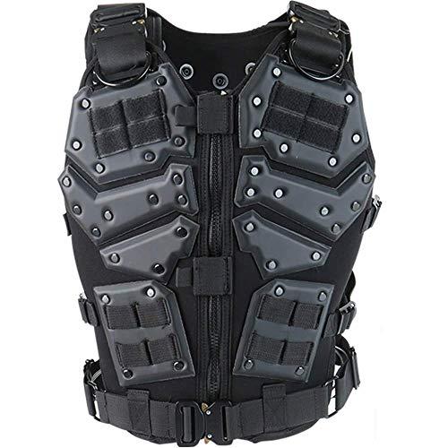 Outdoor-Militär spezielle Taktische Multifunktionsanzug einschließlich Weste, Helm, Rucksack, Kampftraining Erwachsene Männer spezielle Ausrüstung, Live-CS,Vest