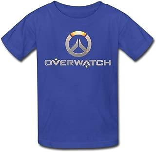 Kid's Overwatch OW Logo Short Sleeve T-Shirt