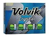 Volvik Crystal Green Golf Ball