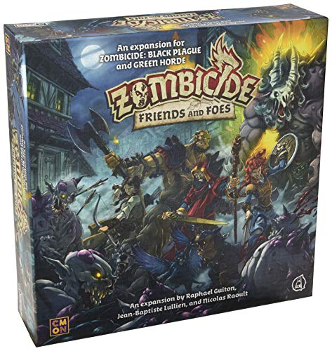 Zombicide Green Horde Friends and Foes Board Game EXPANSION | Strategy Game | Cooperative Game for Teens and Adults | Zombie Board Game | Ages 14+ | 1-6 Players | Avg. Playtime 1 Hour | Made by CMON