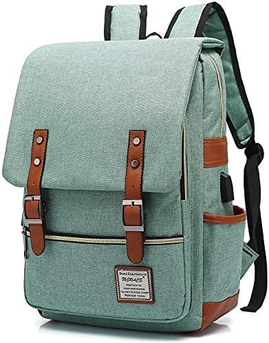Vintage backpack for girls