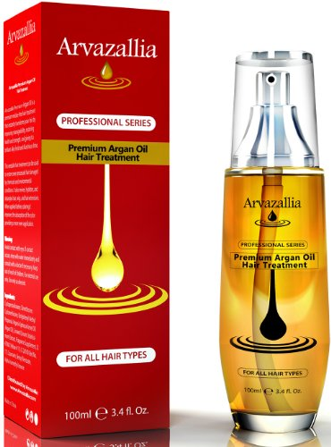Argan Oil for Hair Treatment By Arvazallia Leave in Treatment & Conditioner