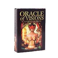 Oracle of Visionsカードデッキ、完全英語版、EGuideブックタロットカードゲーム運命予測神話ゲーム