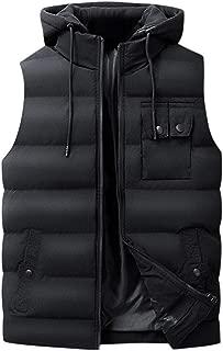 Men Outwear Vest Sweatshirt Fashion Hooded Outwear Sleeveless Solid Jacket Tops Blouse Pullover Hoodies Blouse WEI MOLO