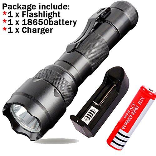 Generic Green : 6 couleurs Mini LED Lampe de poche Noir CREE Q5 2000LM LED étanche LATERNA 3 modes Zoomable Portabletorch Penlight AA 14500
