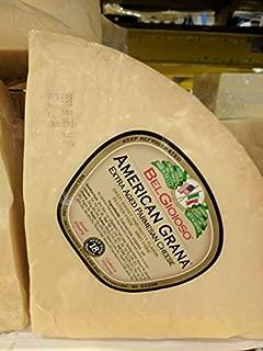 Belgioioso American Grana Cheese Wedge 8 Lb